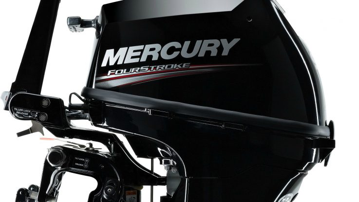 New look for Mercury Marine's 8 and 9.9hp FourStroke outboards