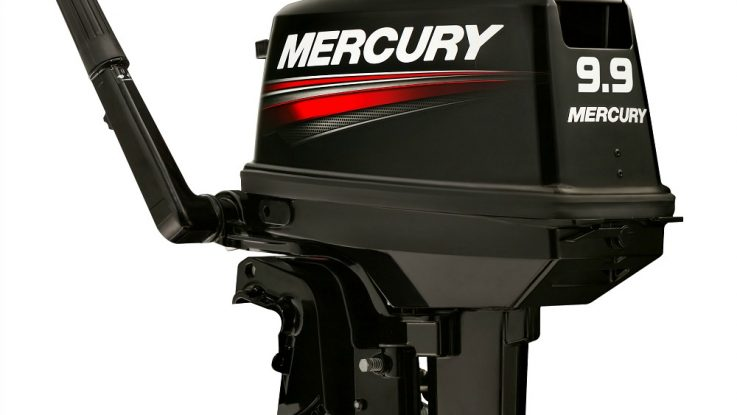 New Mercury 9.9hp outboard - lightest in its class – with optional electric start